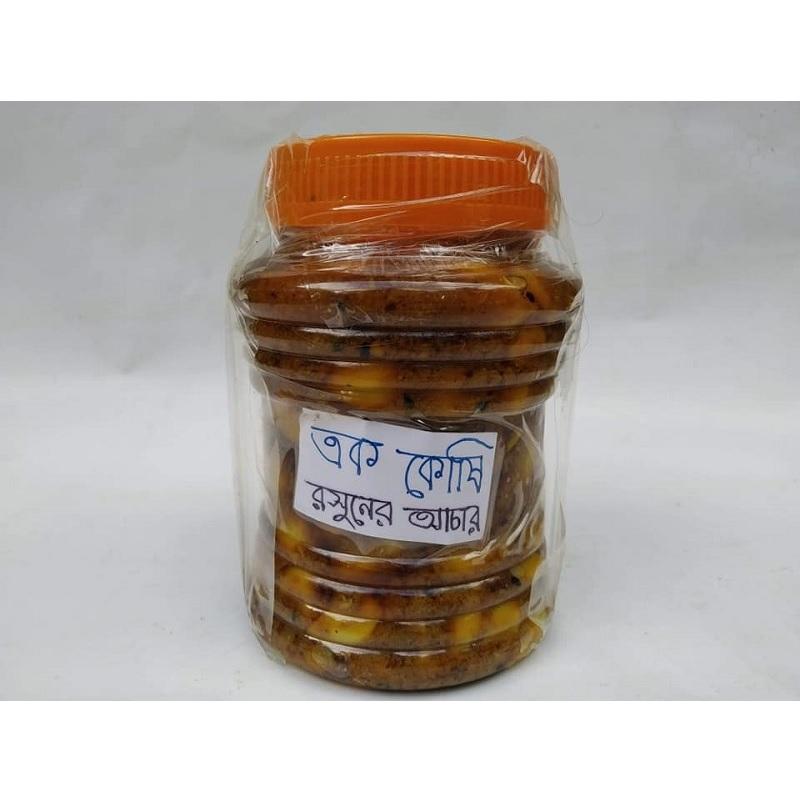 Unicellular-Garlic-Pickle-এককোষী-রসুনের-আচার